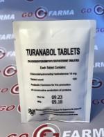 TURANABOL TABLETS (туринабол таблетс) 10MG/TAB - ЦЕНА ЗА 100 ТАБ купить в России